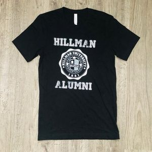 NEW Hillman Alumni A Different World Black T-Shirt